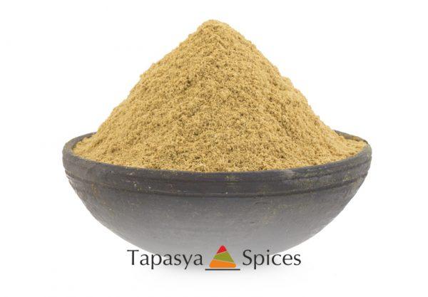 Dhaniya powder Coriander Powder in a bowl