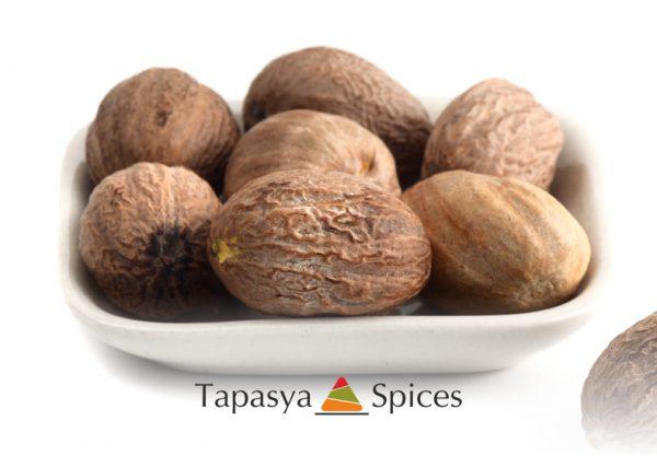 Jaiphal Nutmeg Whole supplier Tapasya Spices