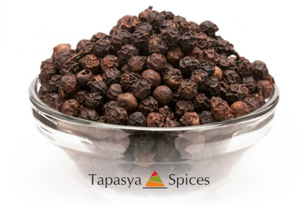 Kali Mirch Black Peppercorns supplier Tapasya Spices