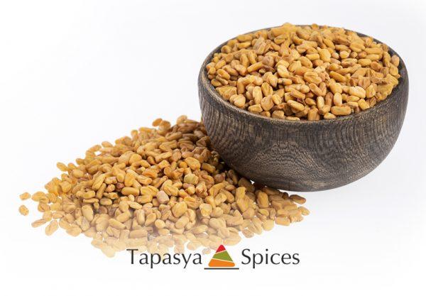 Methi Dana Fenugreek Seeds in a bowl